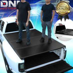 5.8FT SHORT BED TOP HARD SOLID TRI-FOLD TONNEAU COVER DODGE RAM 1500 02-19